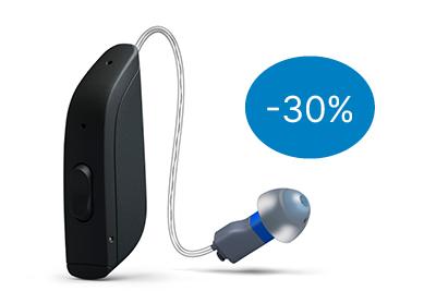Sale ReSound ONE Deep Black Preisvorteil 30 Prozent